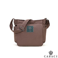 CABACI 帥氣韓版素色斜跨/單肩/斜背帆布包-共4色