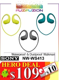 Sony Sports NW-WS413 Waterproof and Dustproof Walkman MP3/ 4GB (LOCAL SONY WARRANTY)