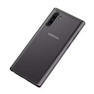 【IN7】魔影系列 Samsung Note10 6.3吋 透黑色磨砂款 防摔手機保護殼(防摔殼 防撞 軟邊 TPU+PC背板)