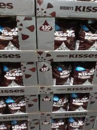 HERSHEY'S KISSES 水滴 牛奶巧克力 Costco