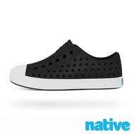 【native】小童鞋 JEFFERSON 小奶油頭鞋(瞬黑x貝殼白)
