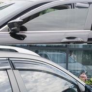 汽車雨晴擋長安CS75專用晴雨擋車窗雨眉遮雨擋檔雨板帶亮條汽車改裝裝飾擋雨板遮雨擋專用