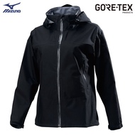 MIZUNO 女裝 外套 連帽 單層 GORE-TEX 防水 防風 透氣 黑【運動世界】B2JE9X1009