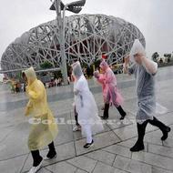 ✤宜家✤戶外旅行旅遊一次性雨衣 便攜式透明雨衣 拋棄式雨衣 男女適用