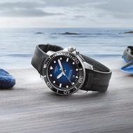 【TISSOT 天梭】水鬼 Seastar 1000 海洋之星300米潛水機械錶-藍x黑/43mm(T1204071704100)