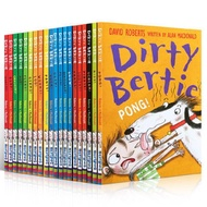 20 Books/Set Dirty Bertie Children Interesting Books Kids English Reading Story Book Children's Chapter Book Novels