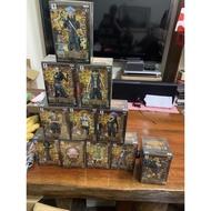 日版金證全金證 黃金城11盒 海賊王近全新