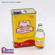 Paint Thinner or Lacquer Thinner (BRETON)   15LITERS (Majesteel)