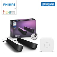 Philips 飛利浦 Hue 智慧照明 Hue Play 燈條雙入+橋接器