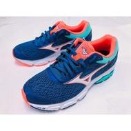 Mizuno美津濃 女 慢跑鞋Wave Equate 2 法國海軍藍/北極藍
