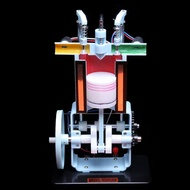 Diesel-Engine-Model Engine-Experimental-Apparatus Kids Internal-Combustion Education