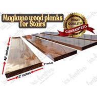 """Wood planks for stairs (2"""" inches thick) Magkuno wood"""