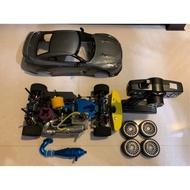 【二手】近全新!遙控車,引擎油車 GTR保護殼
