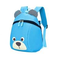 น่ารักป้องกันการสูญหายการ์ตูนหมีรูปร่างเด็กเด็กกระเป๋าเป้สะพายหลัง R ucksack ฟอร์ดผ้า U nisex สาวเด็กกระเป๋านักเรียนเดินทาง