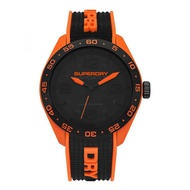 Superdry SYG213B Analog Quartz Two Tone Silicone Mens Watch