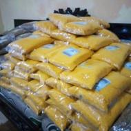 Ampok jagung kering