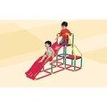【玩出天才】《智高積木》~ 智高GIGO 我的健身房(雙滑梯組/溜滑梯組) #3604CN 185pcs