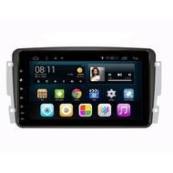 Benz W203 CLK W211 W219 SLK 安卓版螢幕主機 9吋 WIFI.網路電視.藍芽電話