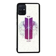 Case Samsung Galaxy A51 A71 Bts Army Fj1073 Soft Hard Diy Custom Phone Case Casing