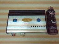 大地震4音路600W(150WX4)CT-686車用擴大機CT-686+毒蜘蛛電容+focus中置喇叭+超薄型扁式重低音喇叭