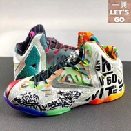 "藍球鞋上腳 Nike LeBron 11 \""What The LeBron\\"" 2014"