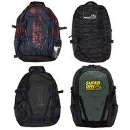 Superdry 極度乾燥運動多功能後背包 時尚人體工學休閒登山背包 通勤 網格 書包 大容量 代購 歐美 正品