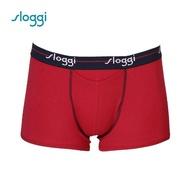 【Sloggi】men Start HO系列合身四角褲 喜氣紅(90-441  RI)