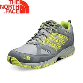 【The North Face 美國 男款 VENTURE FASTPACK II Gore-Tex《灰/黃綠》】防水透氣/抓地耐磨/健走鞋/32XV