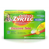 ▶$1 Shop Coupon◀  Zyrtec Children s Allergy Orally Disintegrating - 24 Tablets, Pack of 2