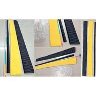現貨/熱縮套管/100cmc黑色黃色花耐磨紋熱縮套管/防滑防靜電/包覆工具單車機車煞車把手管狀保護