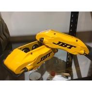 「毅勝車業」JBT卡鉗、JB4P中四卡鉗套裝:全新330單片劃線碟+金屬油管+專用轉接座