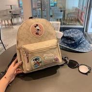 店家COACH蔻馳新款女包 後背包 迪士尼系列限量款 米奇 雙肩包 大容量 出國旅行包 書包 小號 大號休閒背包 學生包