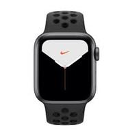 Apple Watch S5 GPS ,40mm 太空灰色鋁金屬錶殼搭 Nike 黑色運動型錶帶