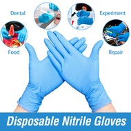 100/200/1000Pieces Disposable Nitrile Gloves, Non-Toxic, Food Safe, Allergy Free for Food Beauty Household Medical Industrial