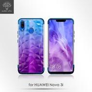 【Metal-Slim】Huawei Nova 3i(3D鑽石時尚電鍍TPU保護殼)