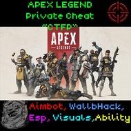 Apex Legends FP HACK | Spoofer Silent Aimbot Recoil Control ESP | Origin PC | (READ DESCRIPTION BEF PAYM)