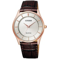 Citizen Eco-drive Simple Fashion Light Energy Watch-leather
