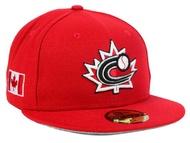 NEW ERA WORLD BASEBALL CLASSIC新埃拉加拿大開場59FIFTY fitteddokyappu FITTED CAP WBC紅紅[帽子BIG_SIZE 17_2_5WBC 17_3_1 17_3_14] auc-amazingstore