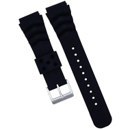 Diver Watch Band Silicone 22MM- Made for Seiko SKX007 SKX009 Cal.7S26- Quick Release- Colors Black, Blue, Grey, Green, Red