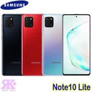 Samsung Galaxy Note10 Lite (8G/128G) 6.7吋全螢幕智慧機-贈空壓殼+韓版包+指環支架+奈米噴劑