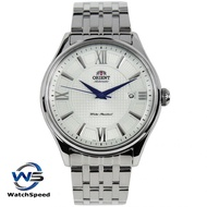 Orient SAC04003W0 Automatic Japan Movt Silver Dial Stainless Steel Men's Watch