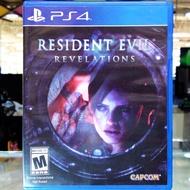 (R1,EN) มือ2 Resident Evil Revelations แผ่นเกม PS4 แผ่นPS4 เกมส์ มือสอง