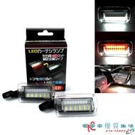 Toyota豐田 ALTIS WISH Alphard vellfire 專用LED車門燈白光+紅 車門照地警示燈