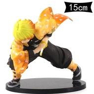 โมเดลดาบพิฆาต ดาบพิฆาตอสูรดาบพิฆาตอสูร ตุ๊กตาDemon Blade Actionรูปของเล่นพีวีซีของเล่นDemon Slayer Figure Model Agatsuma Zenitsu Kimetsu No Yaiba