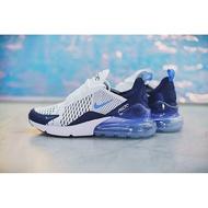 *正貨* Nike Air Max 270 白 深藍 氣墊 慢跑鞋