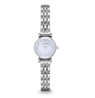 Emporio Armani_ inlaid diamond quartz women's watch. AR1961