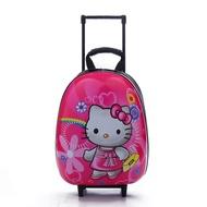 15 นิ้วเด็กกระเป๋าการ์ตูนน่ารักเปลือกแข็งกระเป๋าเดินทางโรงเรียนประถมเปลือกไข่กระเป๋า