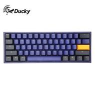 現貨﹉◊Ducky吉利鴨One2 Mini機械鍵盤61鍵沖鴨海岸線白 有線茶軸紅軸