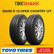 Toyo Tires 265/60 R 18 OPUT SUV/4x4 Tires (2 Tires)