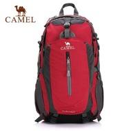 CAMEL 40Lคนรักกลางแจ้งเดินป่ากระเป๋าเป้สะพายหลังเดินป่าCampingกระเป๋าสะพายเดินทางปีนป่ายปีนเขากระเป๋าเป้สะพายหลัง,ที่บังฝนรวม